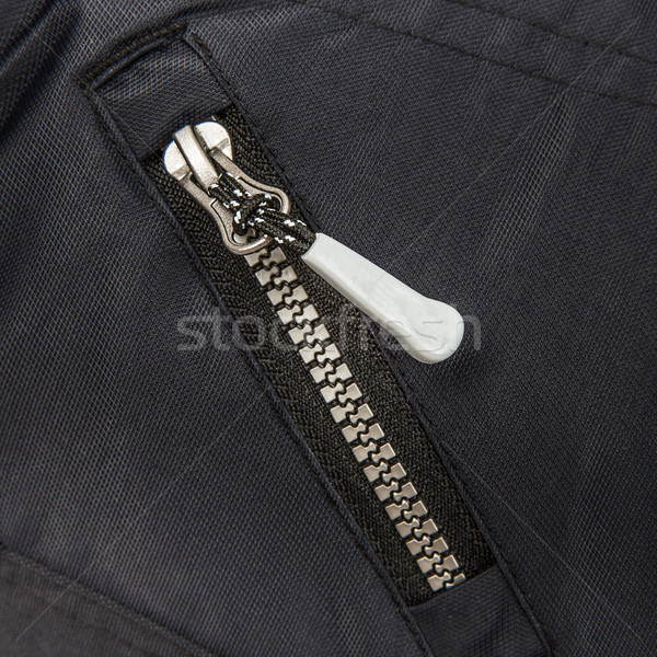 Close up zipper Stock photo © cookelma