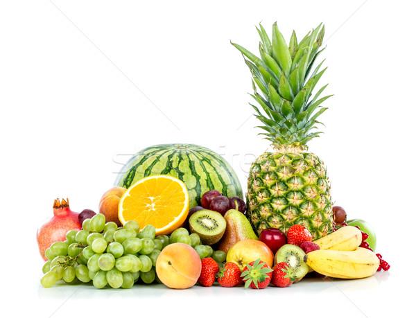 Fruits blanche fruits frais alimentaire Photo stock © cookelma