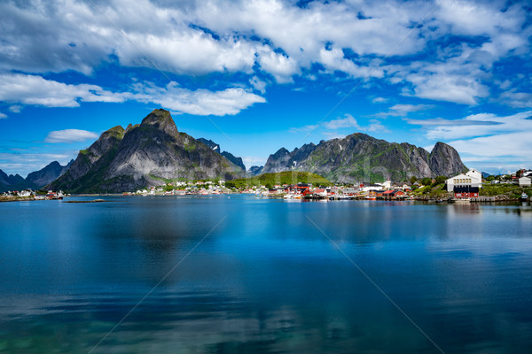 Stock photo: Lofoten archipelago islands Norway