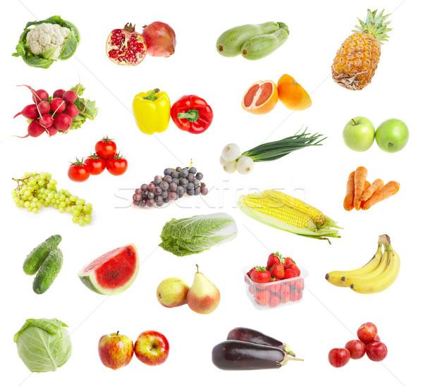Gyümölcs érett tápláló étel tavasz nyár Stock fotó © cookelma
