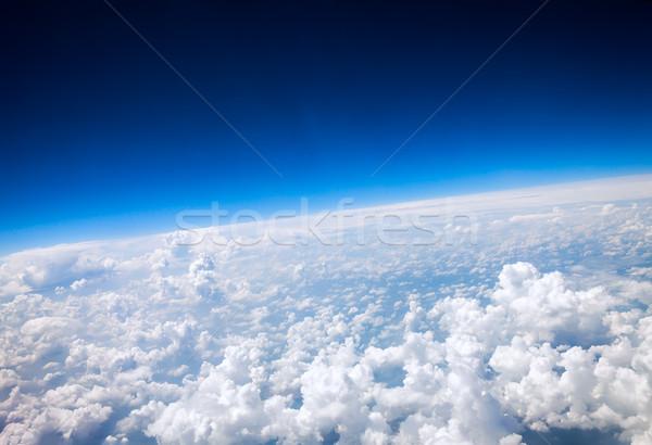 Aarde foto luchtfoto natuur aarde ruimte Stockfoto © cookelma