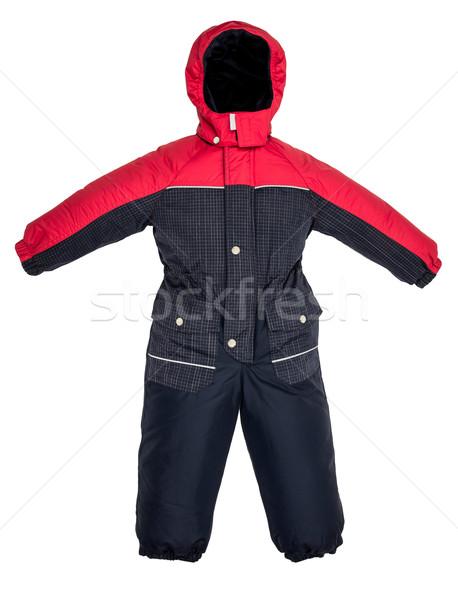 Childrens snowsuit Coat Stock photo © cookelma