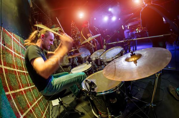 Drummer Stock photo © cookelma