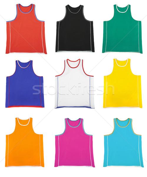 Multicoloured  sports shirt... Stock photo © cookelma
