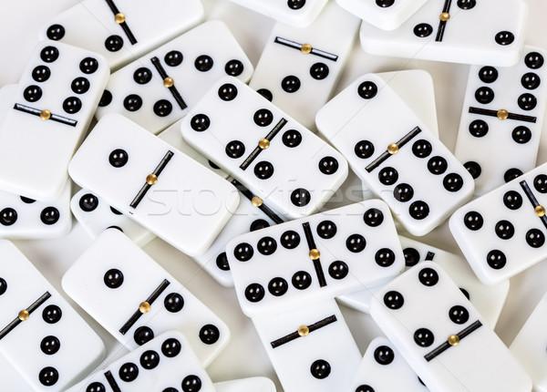 tiles dominoes Stock photo © cookelma