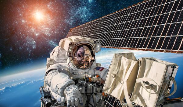 国際 スペース 駅 宇宙飛行士 宇宙 地球 ストックフォト © cookelma