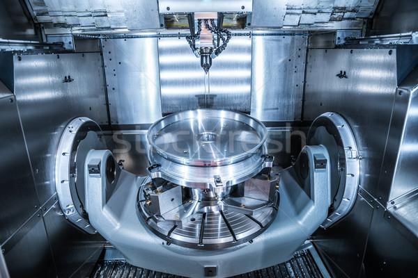 Máquina metal moderna tecnología pequeño Foto stock © cookelma