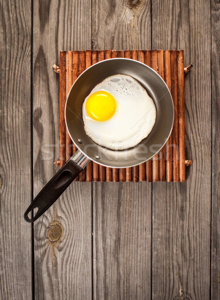 fried eggs Stock photo © cookelma