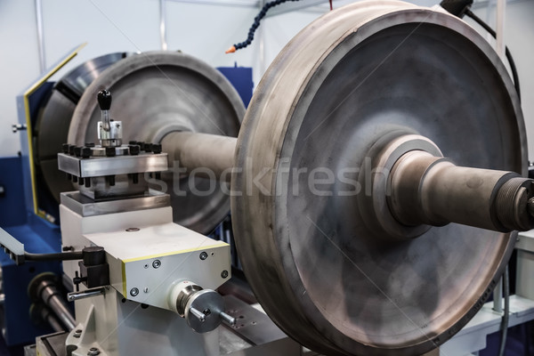 Máquina metal moderno tecnologia pequeno Foto stock © cookelma