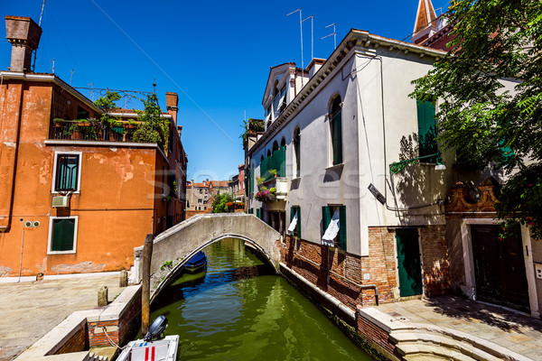 Venice a bright Sunny day Stock photo © cookelma