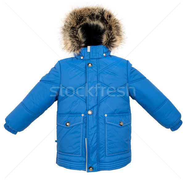 Warm jacket isolated Stock photo © cookelma