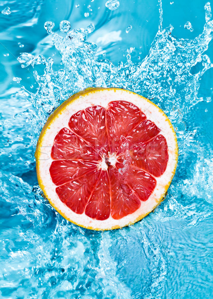świeże grejpfrut wody owoców piękna Zdjęcia stock © cookelma