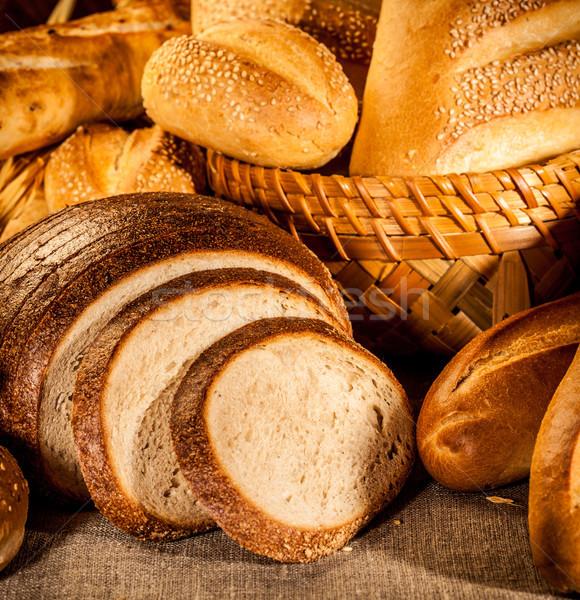 bread Stock photo © cookelma