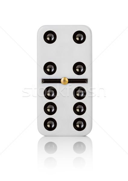 Um telha fundo branco padrão jogo Foto stock © cookelma