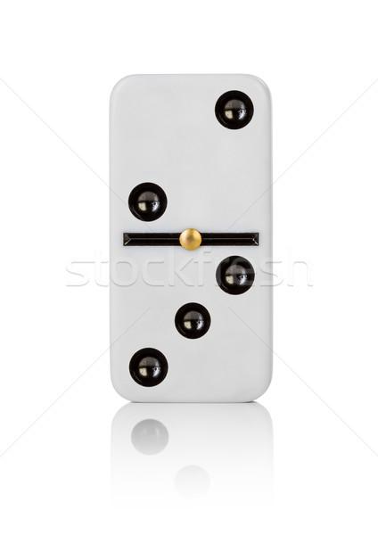 One tile dominoes Stock photo © cookelma