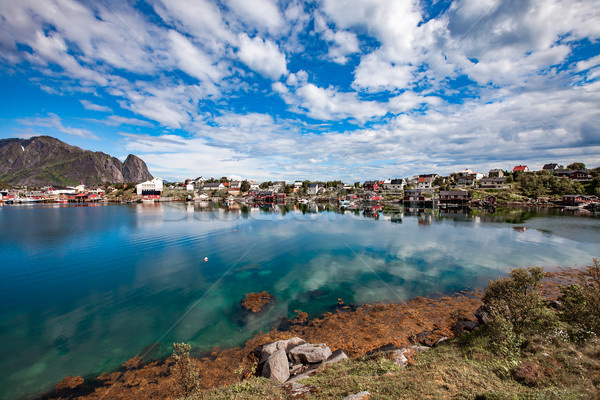 Stock photo: Lofoten archipelago islands