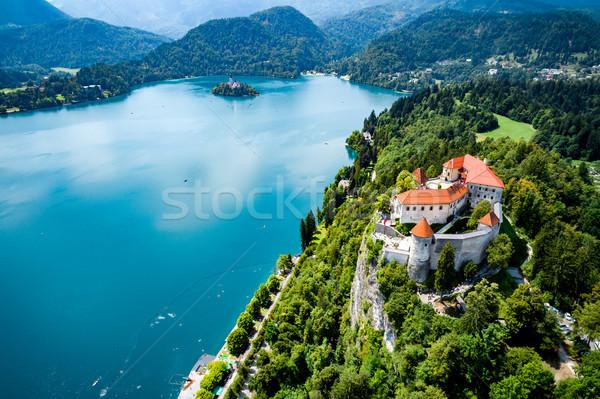 Slovenia - resort Lake Bled. Stock photo © cookelma