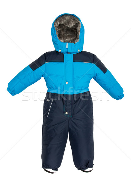 Childrens snowsuit Coat Stock photo © cookelma