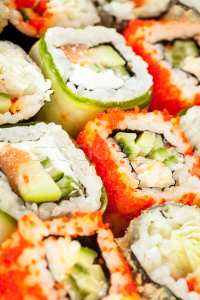 Stock photo: Sushi Roll