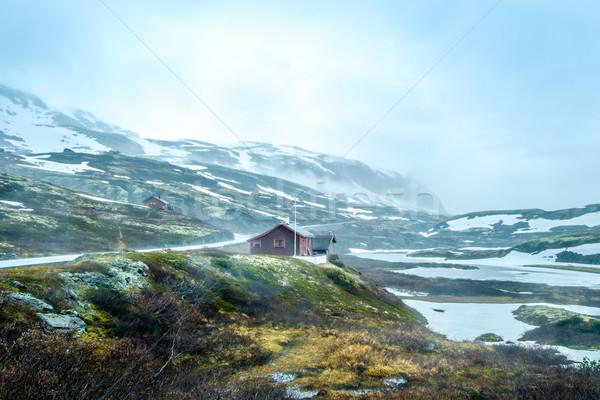 Norway landscape Stock photo © cookelma