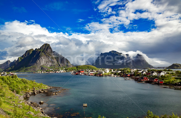Stock photo: Lofoten archipelago
