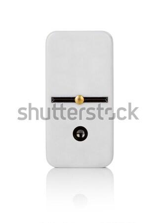 Een tegel achtergrond witte patroon studio Stockfoto © cookelma