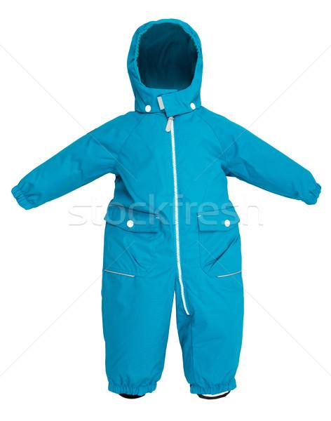 Childrens snowsuit fall Stock photo © cookelma
