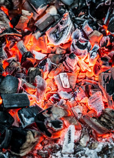 Red-hot coal Stock photo © cookelma