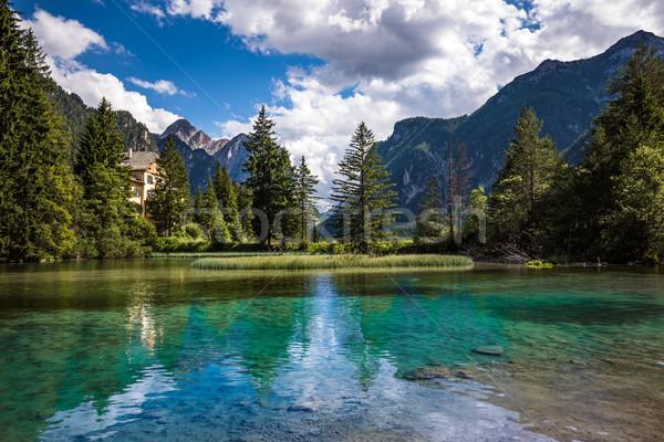 Lago Italia bella natura naturale panorama Foto d'archivio © cookelma