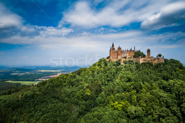 Hohenzollern Castle, Germany. Stock photo © cookelma
