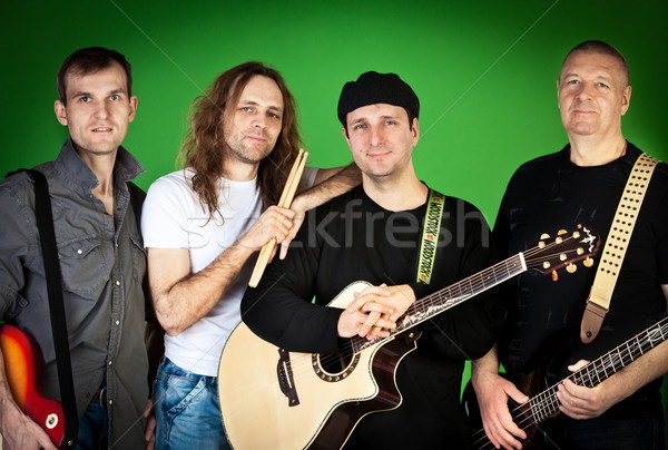 Musical group Stock photo © cookelma