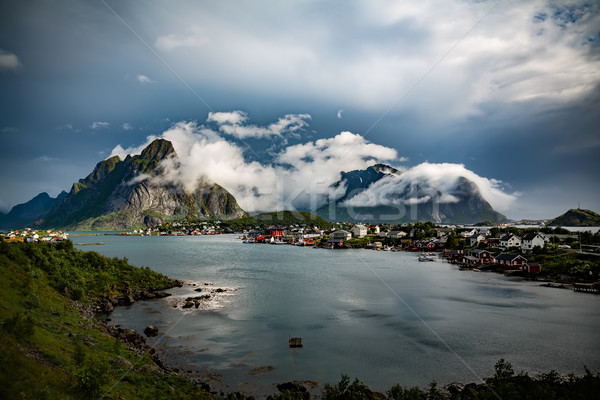 Lofoten archipelago Norway Stock photo © cookelma