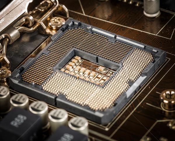 Modern motherboard Stock photo © cookelma