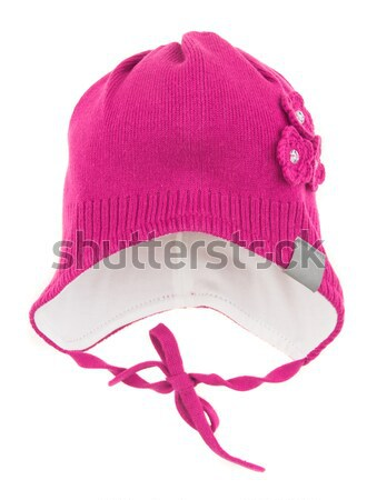 Children's winter hat Stock photo © cookelma