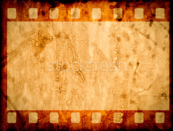 Eski kağıt doku kâğıt arka plan çerçeve Stok fotoğraf © cookelma