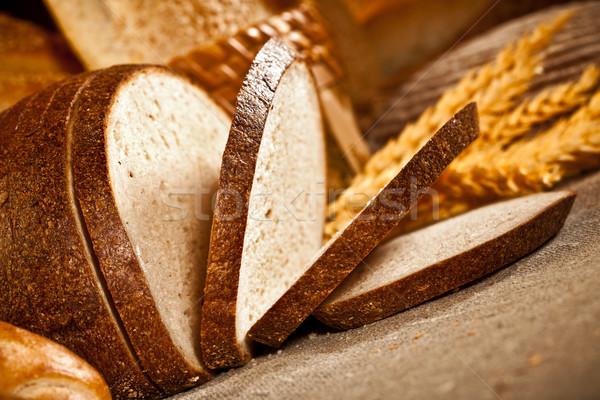Ekmek taze yumuşak lezzetli gıda buğday Stok fotoğraf © cookelma