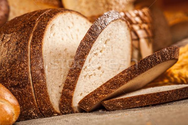 Baked bread Stock photo © cookelma