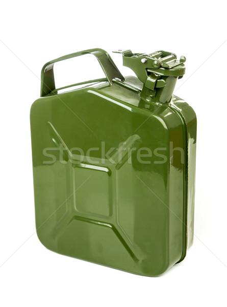 Green jerrycan Stock photo © cookelma