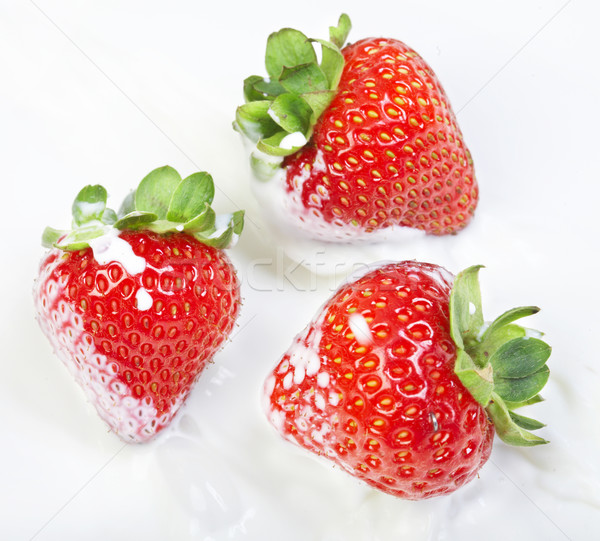 Strawberry Stock photo © cookelma