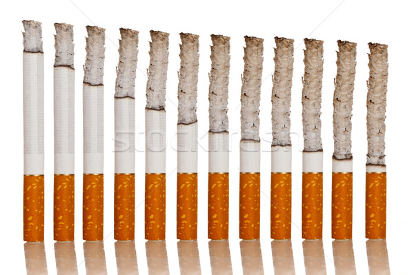 lighted cigarettes Stock photo © cookelma