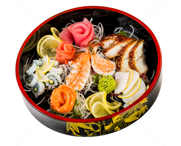 sea food combination Stock photo © cookelma