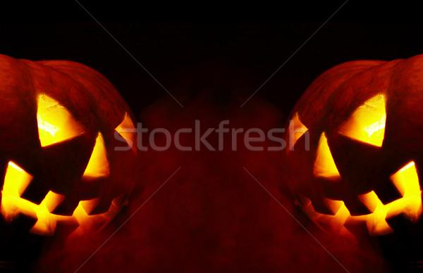 Stock photo: halloween. a-smoke