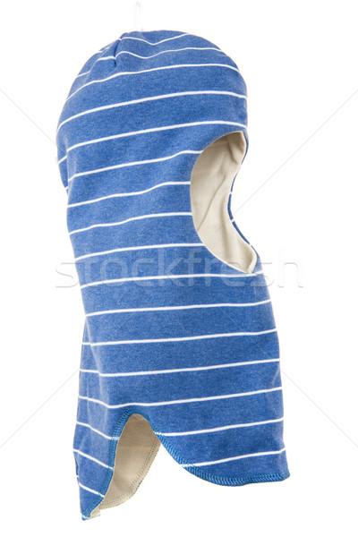Bambini Hat casco uno buco sci Foto d'archivio © cookelma