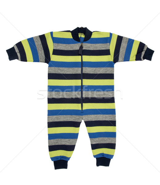 Stock photo: Baby wool clothes