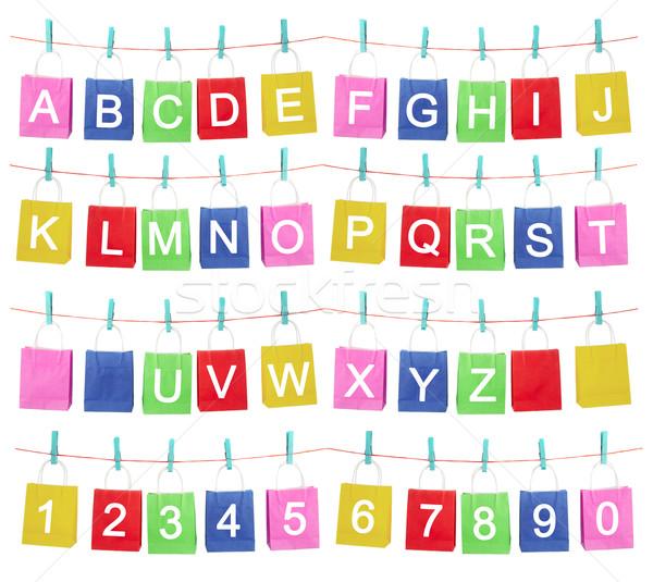 alphabet Stock photo © cookelma