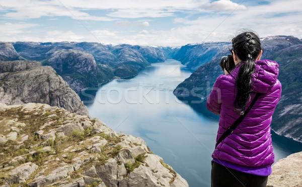 Nature photographer Stock photo © cookelma
