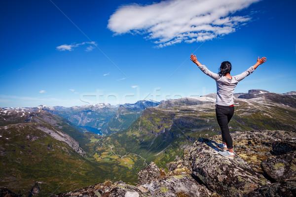 観光 休暇 美しい 自然 長い ストックフォト © cookelma
