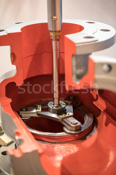 Industrial surface grinding machine. Stock photo © cookelma