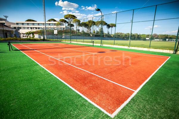 tennis court Stock photo © cookelma