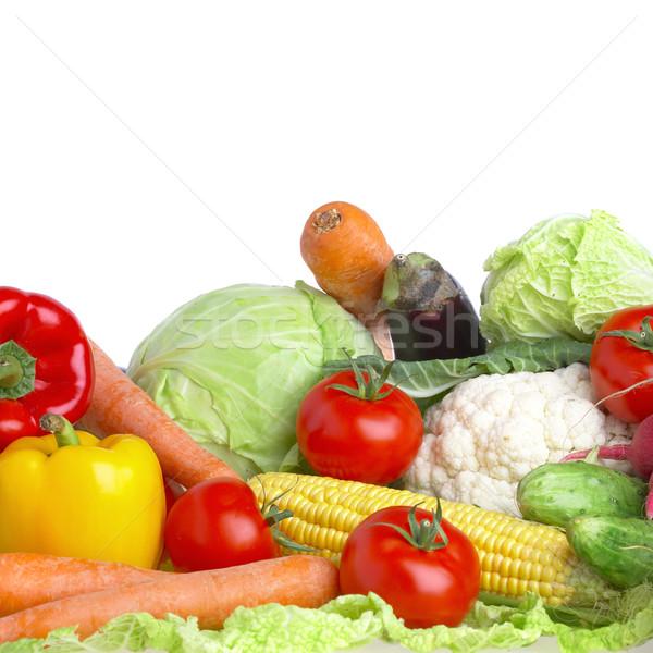 Verdura cibo sano foto salute verde Foto d'archivio © cookelma